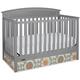 Graco Matthew 5-in-1 Convertible Crib - Pebble Gray