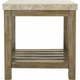 Palmdale Marble End Table