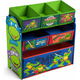 Teenage Mutant Ninja Turtles Multi-Bin Toy Organizer