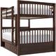 Jordan Full-Over-Full Bunk Bed w/ Storage