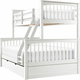 Jordan Twin-Over-Full Bunk Bed w/ Trundle