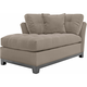 Cindy Crawford Home Metropolis Microfiber Left-Arm-Facing Chaise Lounge