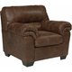 Livingston Leather-Look Chair