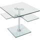 Vector Glass End Table