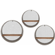 Laurel Round Wall Shelves: Set of 3
