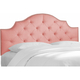 Amara Twin Nail Button Headboard