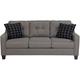 Zola Microfiber Sofa