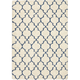 Emmerson Ivory And Blue Area Rug, 7'10