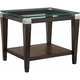 Dunhill Glass End Table