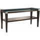 Dunhill Glass Console Table