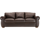 Marsala Leather Full Sleeper Sofa