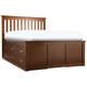 Everitt King Storage Platform Bed