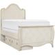 Mila Kids' Full Platform Bed w/ Storage