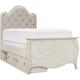Mila Kids' Twin Platform Bed w/ Storage