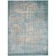 Rohesia Blue Area Rug, 5'3 x 7'4