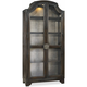 Hooker Furniture Corp. Sanctuary Glass China Curio Ebony / Antiqued Oak