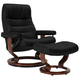 Stressless Opal Large Leather Reclining Chair And Ottoman