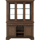 Homelegance Halloran 2-pc. China Cabinet W/ Lighting And Wine Storage Cherry
