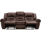 Cole Leather Power-reclining Sofa