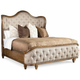 Continental California King Upholstered Bed
