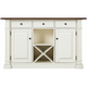 Pemberton Counter-Height Kitchen Island