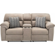 Amador Reclining Console Loveseat