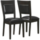 Augusta Upholstered Back Dining Chair: Set of 2