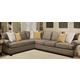 Angelo 2-pc. Chenille Sectional Sofa