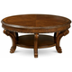 Old World Round Coffee Table