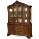 Old World 2-pc. China Cabinet w/ Lighting