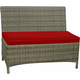 Bainbridge Outdoor Dining Loveseat Bench