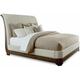 St. Germain California King Upholstered Platform Sleigh Bed