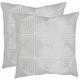 Lacie Geometric Pillow: Set of 2