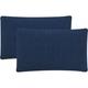 Soleil Solid Indoor Outdoor Pillow: Set Of 2