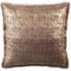 Metallic Sponge Printed Pattern Pillow