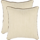 Gunnar Texture and Weaves Pillow: Set of 2