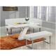 Linden 3-pc. Dining Set w/ Corner Dining Bench