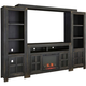 Pearson 4-pc. Wall Unit with Log Fire Insert