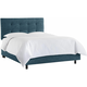 Sangerfield Full Tufted Bed
