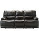 Wallace Leather Power-Reclining Sofa