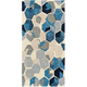 Felix Blue and Gray Area Rug, 5' x 7'6