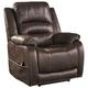 Zachary Power Recliner w/ Adjustable Headrest