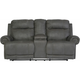 Romilly Reclining Loveseat w/ Console