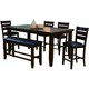Bardstown 6-pc. Counter-Height Dining Set w/ Bench