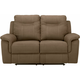 Stanfield Microfiber Power-Reclining Loveseat