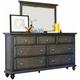 Waycross City 2-pc. Bedroom Dresser and Mirror Set