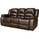 Concord Leather Reclining Sofa