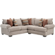 Mosley 2-pc. Chenille Sectional Sofa