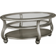 Northrop Oval Cocktail Table