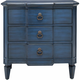 Coast To Coast Imports Chatham Accent Chest Antique Blue L: 32.00 W: 16.00 H: 32.50